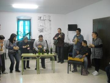 Classe amb el col·lectiu d'Amisol